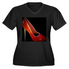 high heel Plus Size T-Shirt
