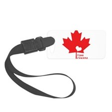 I Love Canada Luggage Tag