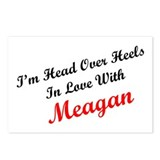 In Love with Meagan Postcards (Package of 8)