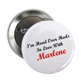 "In Love with Marlene 2.25"" Button (10 pack)"