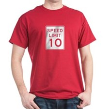 Speed Limit 10 - USA T-Shirt
