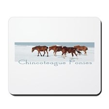 Chincoteague Ponies Mousepad