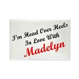 In Love with Madelyn Rectangle Magnet