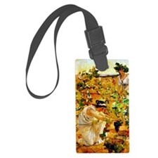 Sorolla - Grape Harvest Luggage Tag