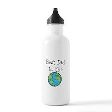 Best Dad in the world Water Bottle