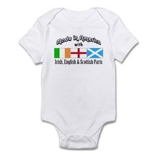 Irish-English-Scottish Infant Bodysuit