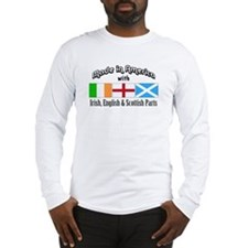 Irish-English-Scottish Long Sleeve T-Shirt