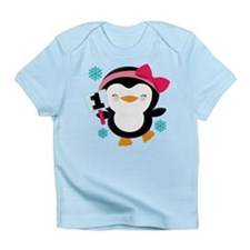 1st Birthday Penguin Girl Infant T-Shirt