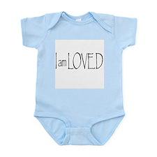 I AM LOVED Infant Bodysuit
