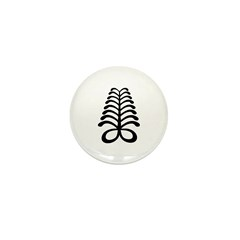 AYA Adinkra Symbol Mini Button (10 pack)
