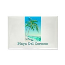 Playa del carmen Rectangle Magnet