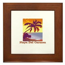 Unique Playa del carmen Framed Tile