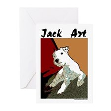 Jack Art Greeting Cards (Pk of 10)