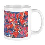 Hearts-A-Flutter Art Coffee Mug