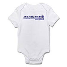 Cute Hawaiian island Infant Bodysuit