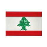 Lebanon Rectangle Magnet (10 pack)