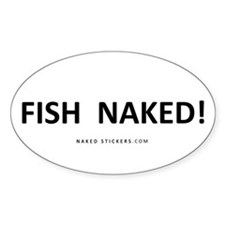 FISH NAKED! Sticker_NAKED STICKERS.COM