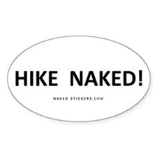 HIKE NAKED! Sticker_NAKED STICKERS.COM