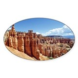 Bryce National Park Oval Decal