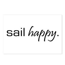 Sail Happy Postcards (Package of 8)