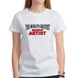 """The World's Greatest Makeup Artist"" Tee"