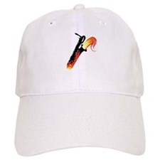 Hot Baritone Sax Baseball Cap