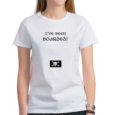 I've been boarded pregnancy Women's T-Shirt
