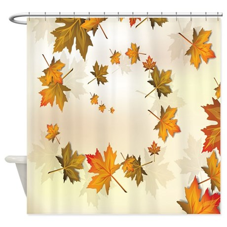 Keep your floor dry & safe from mildew with Fall Leaves shower curtains from Zazzle! Choose from a number of great designs or create your own!