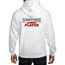 """The World's Greatest Cornet Player"" Jumper Hoody"