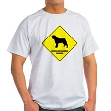 Bouvier Crossing Ash Grey T-Shirt
