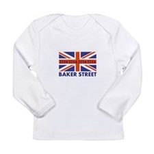 221B Union Jack Long Sleeve T-Shirt