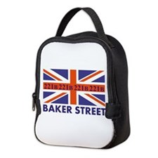 221B Union Jack Neoprene Lunch Bag