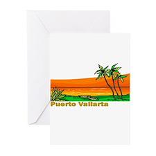 Cool Puerto vallarta Greeting Cards (Pk of 10)