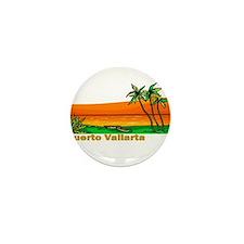 Unique Puerto vallarta Mini Button (10 pack)