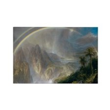 Rainy Season in the Tropics by Fr Rectangle Magnet
