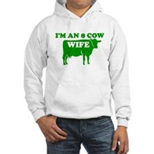 I AM AN 8 COW WIFE MORMON SHI Hoodie
