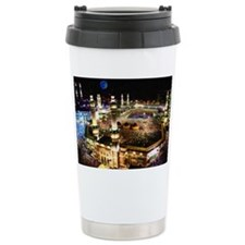 holly mecca during hajj Ceramic Travel Mug