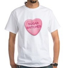 sugar britches Candy Heart Shirt