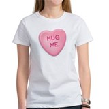 Hug Me Candy Heart Tee