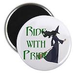 Broom Ride Magnet