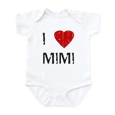 I Heart MIMI (Vintage) Infant Bodysuit