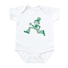 Funky Leprechaun Infant Bodysuit
