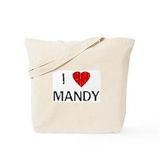 I Heart MANDY (Vintage) Tote Bag