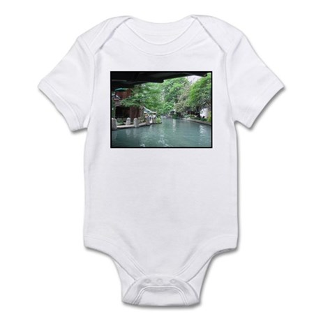San Antonio Riverwalk Infant Bodysuit