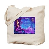 Goddess Pisces Tote Bag