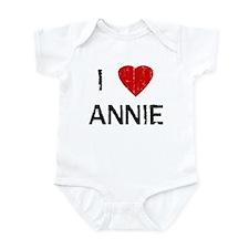 I Heart ANNIE (Vintage) Infant Bodysuit