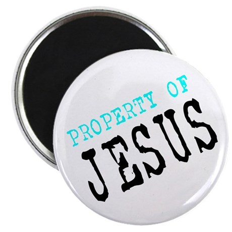 "Property of Jesus 2.25"" Magnet (100 pack)"