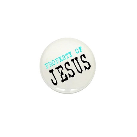 Property of Jesus Mini Button
