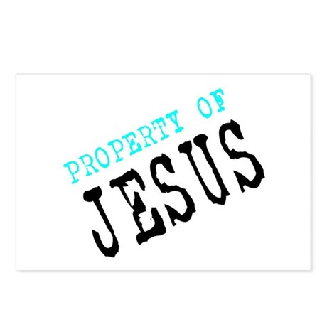 Property of Jesus Postcards (Package of 8)