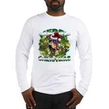 MerryChristmas Doberman Long Sleeve T-Shirt